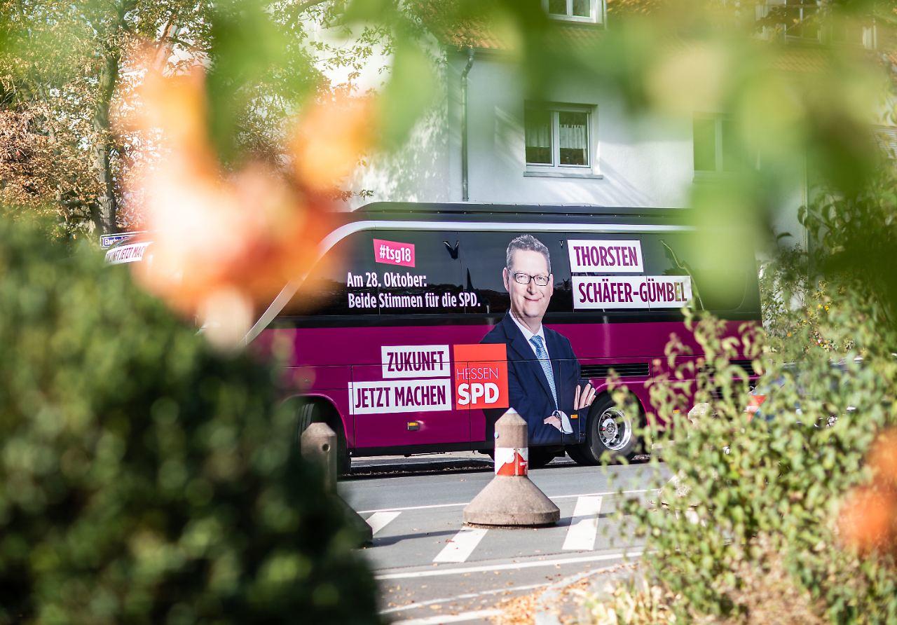 CDU und SPD droht Wahldebakel in Hessen
