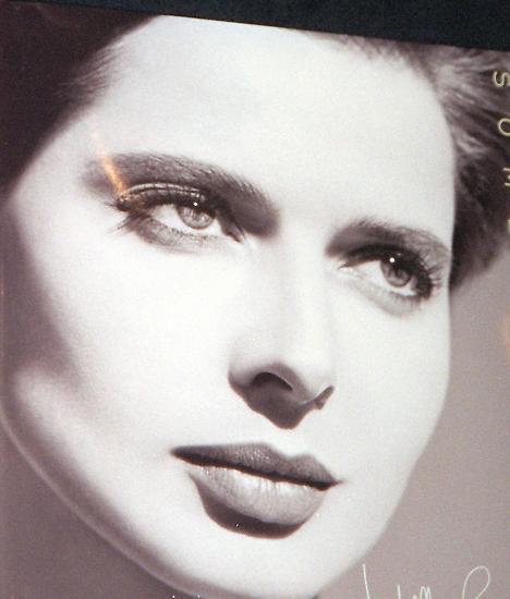 Berühmt wurde vor allem erst einmal Isabella Rossellinis Gesicht: ...