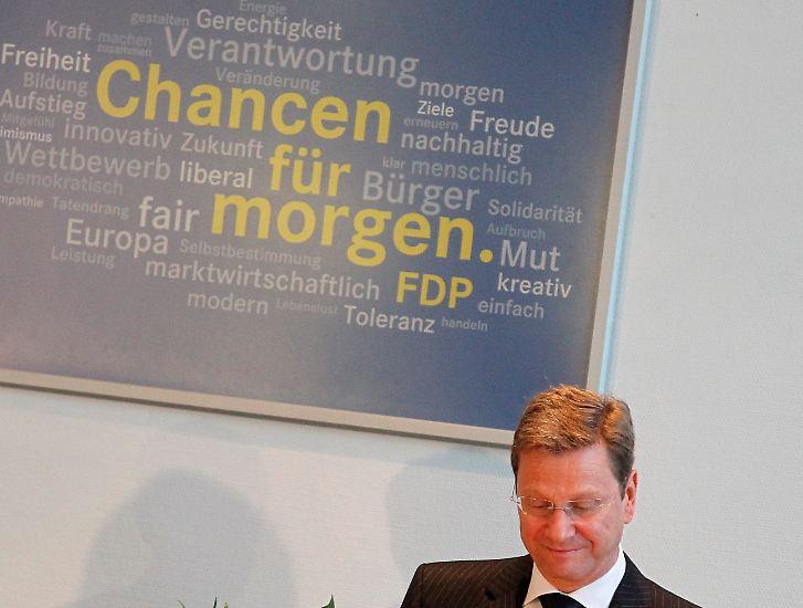 Guido Westerwelle in Zahlen: