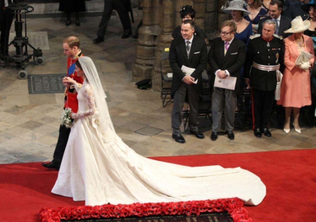 Hochzeitskleid des Jahrhunderts\