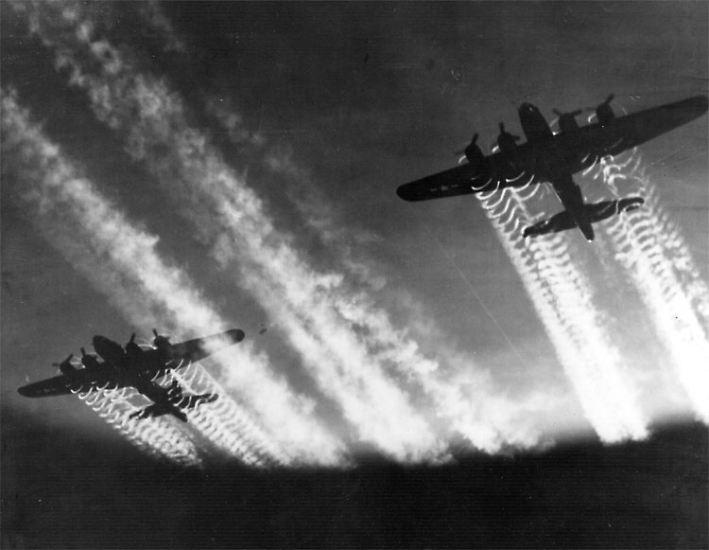 Mehr als 65 Jahre ist es her, dass die Alliierten Streitkräfte im Zweiten Weltkrieg großflächige Luftangriffe gegen Deutschland flogen.