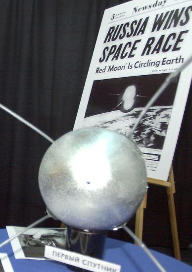Wenige Jahre nach der Sputnik-Mission (1957) und ...