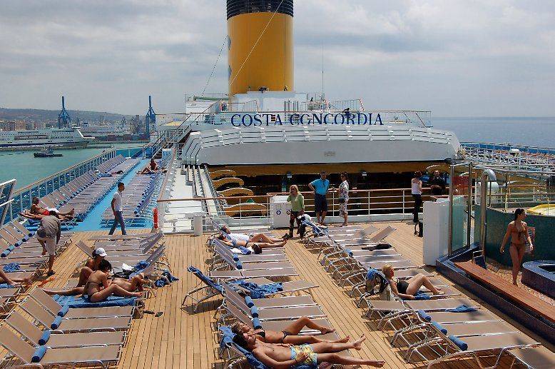 Es sollte eine einwöchige Mittelmeerkreuzfahrt werden.