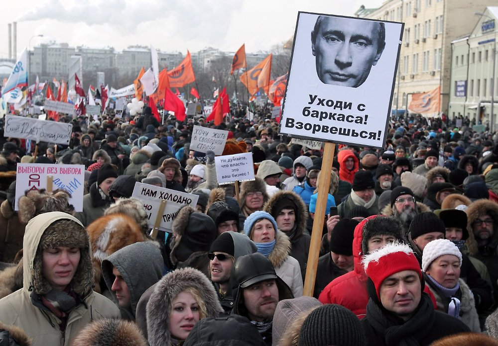 protestieren vor kremlwahl ja und nein zu putin n. Black Bedroom Furniture Sets. Home Design Ideas