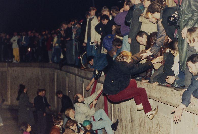 Die Revolution in der DDR ...