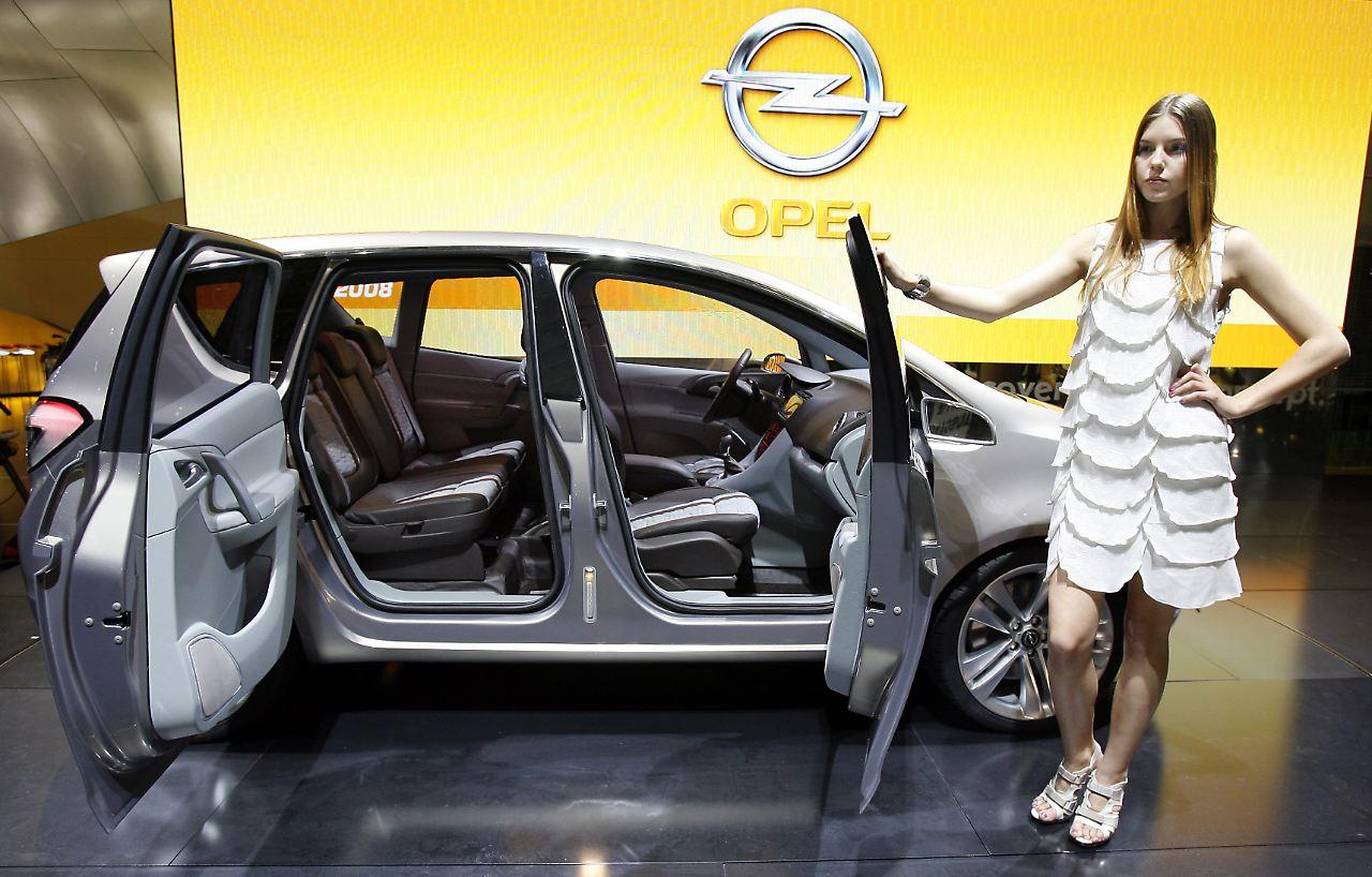 Premiere des Opel Meriva in Genf: Leichterer Zugang zu Rücksitzen ...