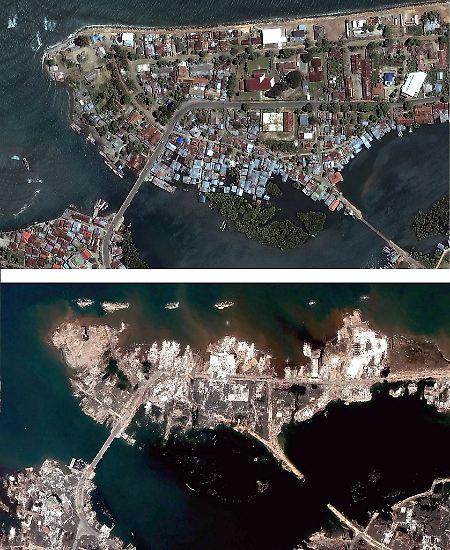 Nach dem asiatischen Tsunami