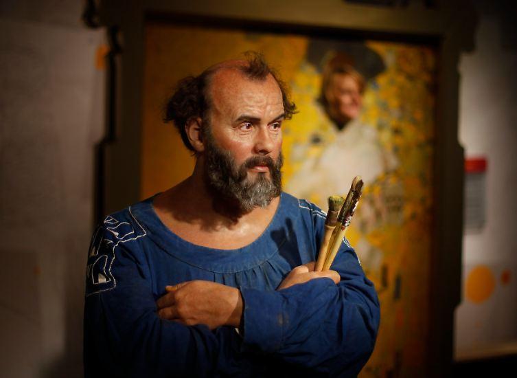 An was denken Sie als Erstes bei dem Namen Gustav Klimt?