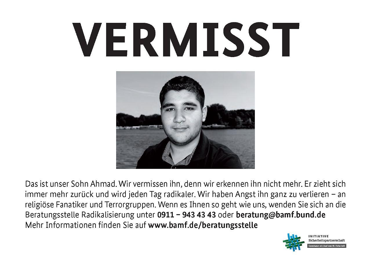 Plakate gegen Radikalisierung: Muslime sind aufgebracht - n-tv.de