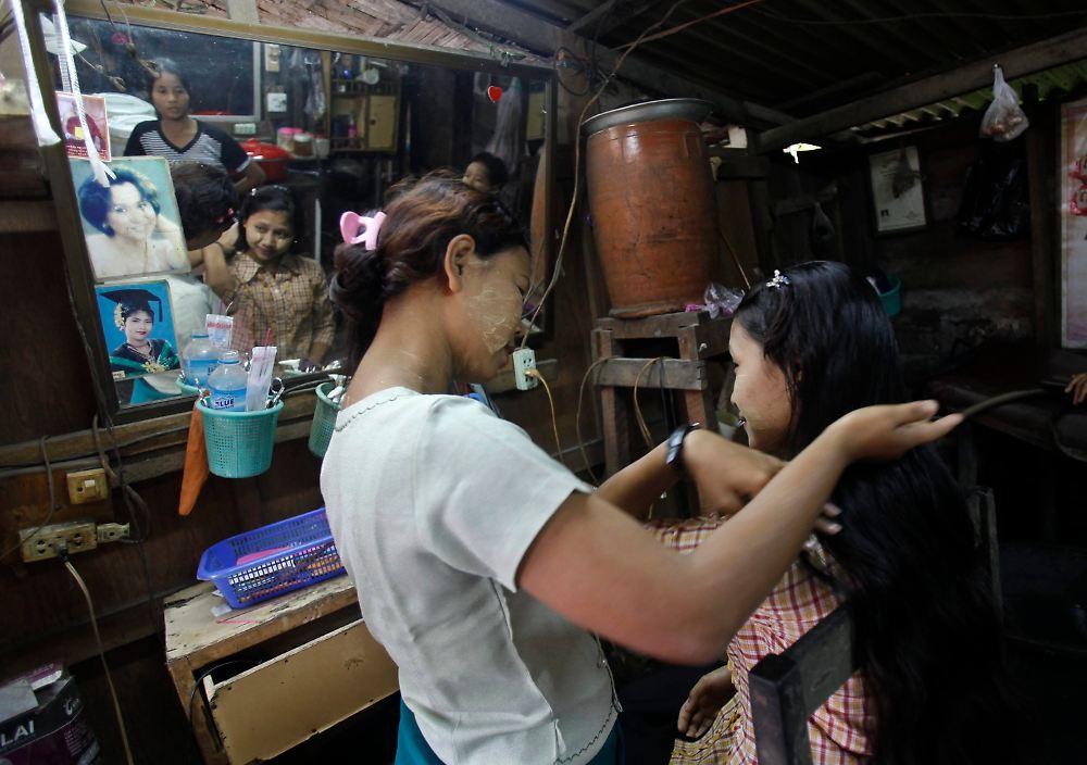 Wie Sie das Haar vom Vorfall behandeln