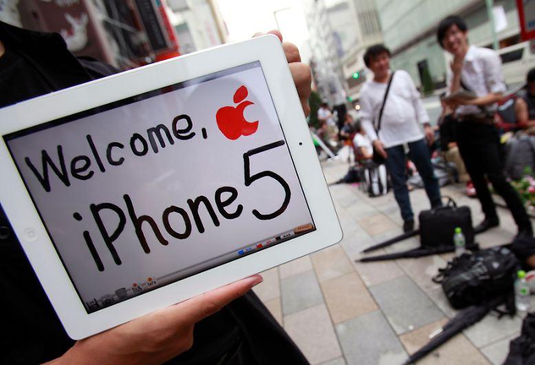 Für die Apple-Fans sind die letzten Tage vor dem Verkaufsstart des neuen iPhone 5 kaum noch auszuhalten.