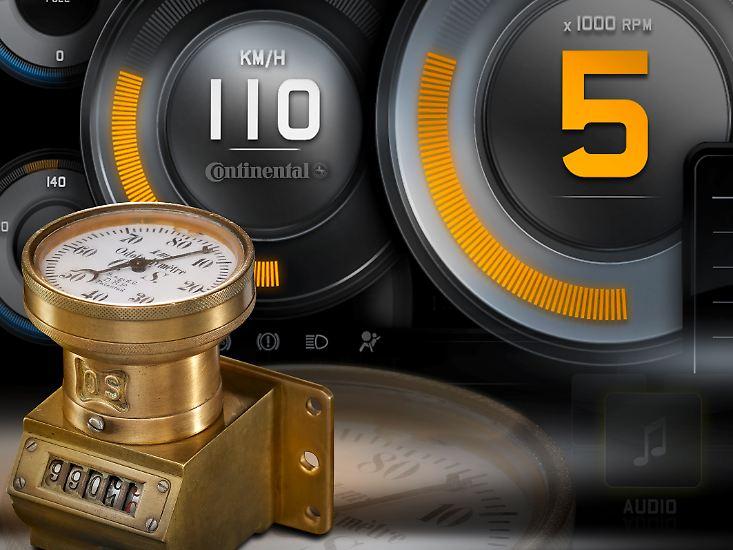 Der deutsche Ingenieur Otto Schulze aus Straßburg meldete am 7. Oktober 1902 beim Kaiserlichen Patentamt in Berlin unter der Patentnummer 146134 den ersten Tachometer für Automobile an.