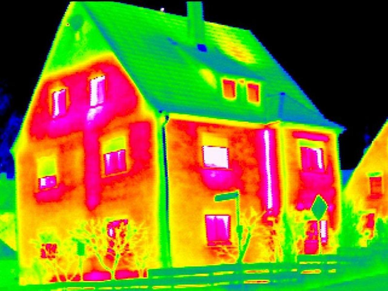 energielecks im haus aufsp ren thermographie an kalten tagen sinnvoll n. Black Bedroom Furniture Sets. Home Design Ideas