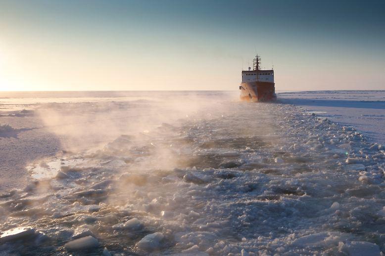 Die einen bahnen Frachtern und Tankern den Weg durch zugefrorene Meere.
