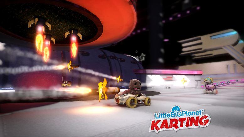 """Ein großer Trend des Jahres: Spielspaß mit mehreren Mitspielern. Pünktlich zu Beginn des Weihnachtsgeschäfts kommt zum Beispiel """"Little Big Planet Karting"""" für die Playstation 3 in den Handel."""