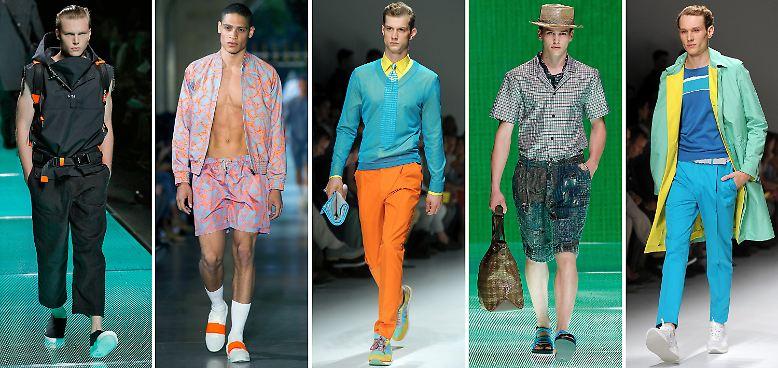 Die neue Männermode hat Stil. Im Frühjahr/Sommer 2013 darf alles ein bisschen klarer, geschliffener und fescher sein. Zwar rufen die Designer nicht gleich die neue Eleganz aus, ...