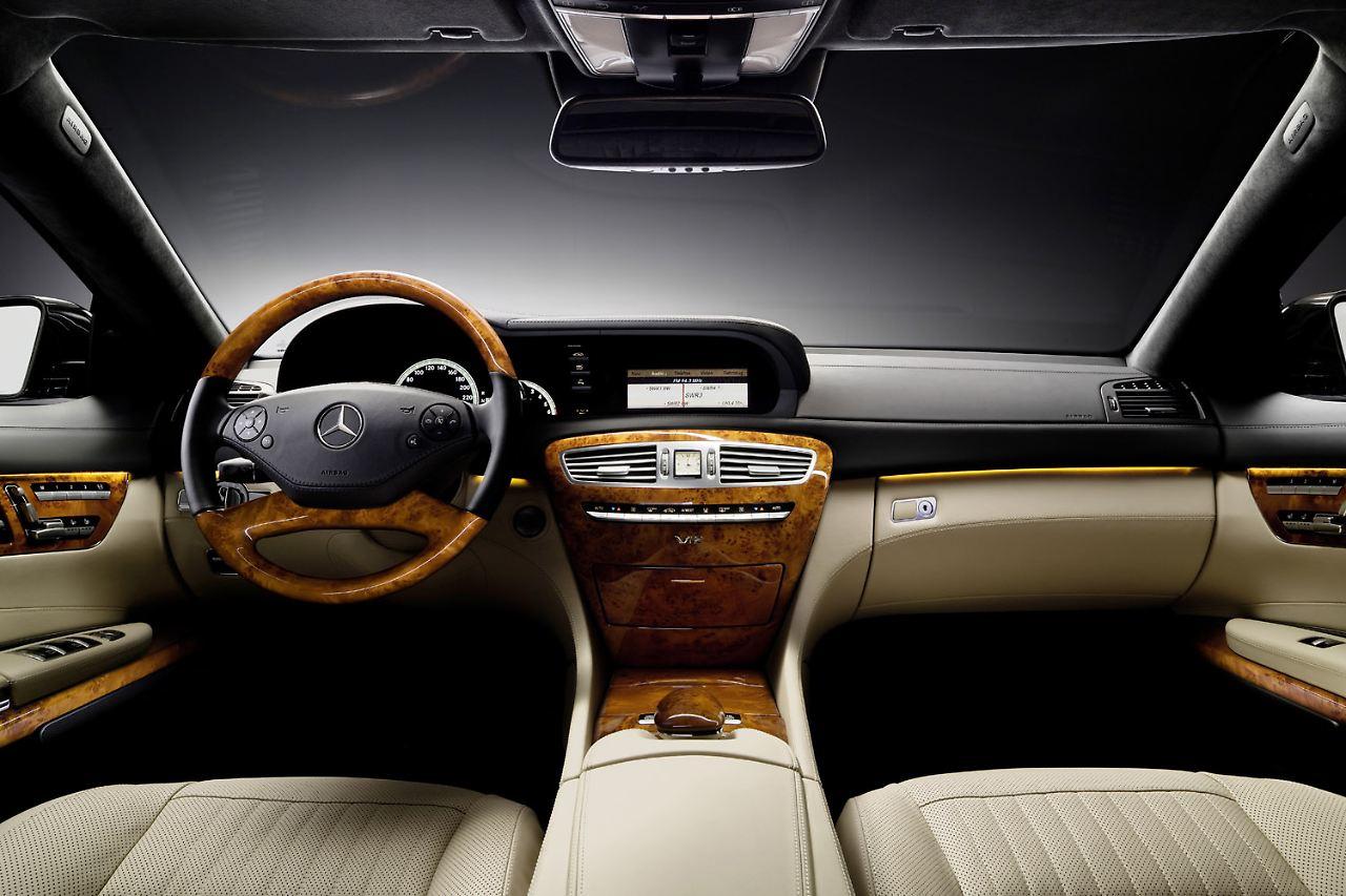 Mercedes cl klasse sicherer und deutlich sparsamer n for Innenraum designer programm