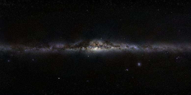 ... der Milchstraße.