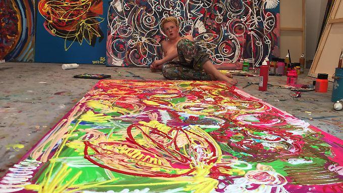 Mit seinen 19 Jahren begeistert Leon Löwentraut die internationale Kunstwelt.