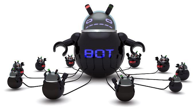 In einem Botnetz werden tausende Computer zusammengeschlossen, die Cyberkriminelle über Trojaner unter ihre Kontrolle gebracht haben.