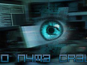 Die No-Name Crew schreibt sich selbst n0 n4m3 cr3w.