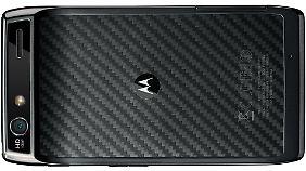 Die Rückseite des Motorola Razr ist mit Kevlar verstärkt.