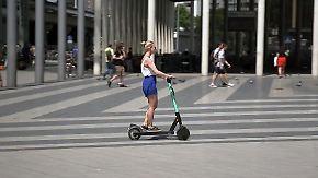 Experten warnen vor Verletzungen: E-Scooter erobern Deutschlands Städte