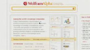 Mehr Antwort- als Suchmaschine: WolframAlpha ist online